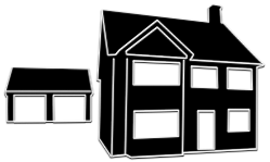 Large Detached house illustration