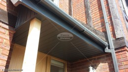 colour coated tongue and groove soffit UPVC