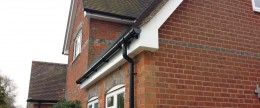 UPVC replacement guttering