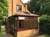 Edwardian conservatory roof replacement with equinox warm roof