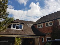 Installation Of New Upvc Fascias Soffits And Guttering On A Detached Property in Woking Guildford