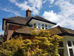 Recent Full Installtion Of Upvc Fascia Boards Soffits And Guttering On A Detached Property In Woking Guildford
