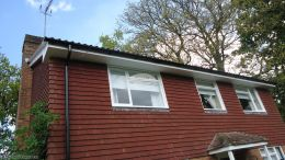 Soffit And Fascia Replacement White Godalming Guildford