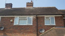 Full replacement fascias soffits and guttering on a detached property in Godalming Guildford