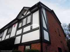 Replacement mock tudor beams with Replica Wood