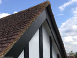 Mock Tudor beams and fascia, soffit and guttering Guildford