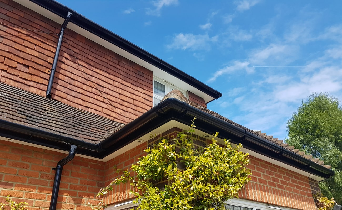 Fascia, soffit and guttering installation by The fascia Division Guildford