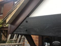 Replica Wood Tudor boards with rosewood fascia