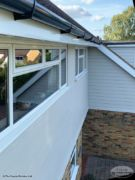 Hardieplank cladding fascias, soffits guttering install