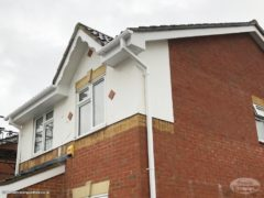 Soffits, guttering and fascia